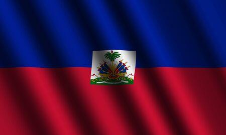 The Haiti flag photo