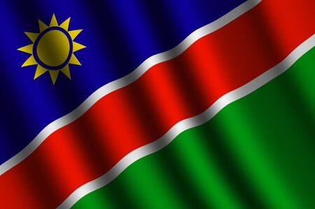 namibia: The Namibia flag