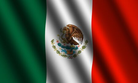 The Mexican flag photo