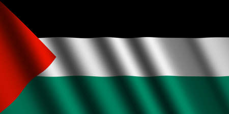 palestinian: The Palestinian flag