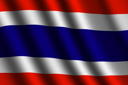 The Thai flag photo