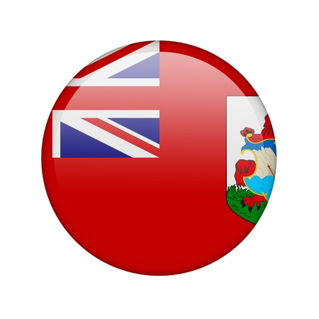bermuda: The Bermuda Islands flag in the form of a glossy icon.