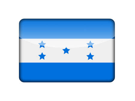 honduras: Honduras flag Stock Photo