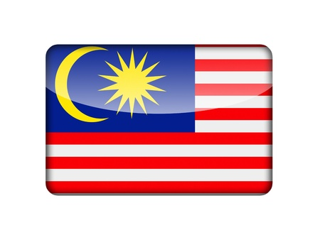 aruba flag: The Malaysia flag in the form of a glossy icon