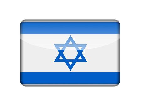 Israel flag Stock Photo - 18964557