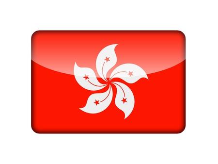 Hong Kong flag photo