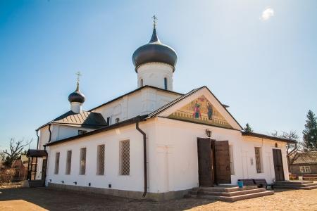 nerl: Russian orthodox church in Staraya Russa, Russia