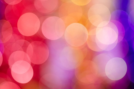 modern abstract design: Holiday colorful bokeh. The real photo.  Closeup Stock Photo