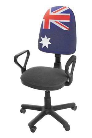 The Australian flag Stock Photo