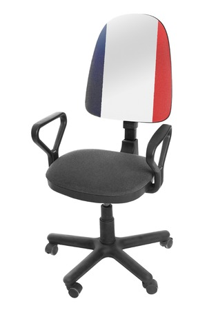 The French flag Standard-Bild