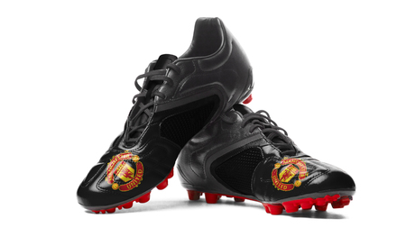 FC Manchester United - football boots. Editorial