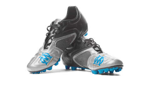 FC Olympique de Marseille - football boots. Editorial