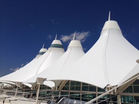 Denver international airport roof