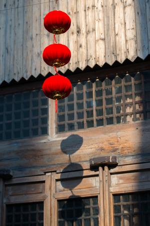 inn: Lantern outside the inn
