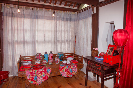 dowry: Traditional marriage room