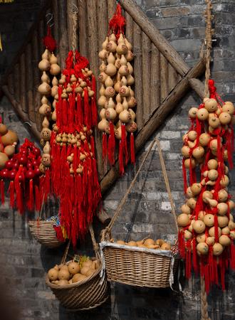 hoist: Hanging sold handicrafts hoist