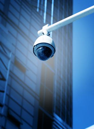 Blue monitor camera