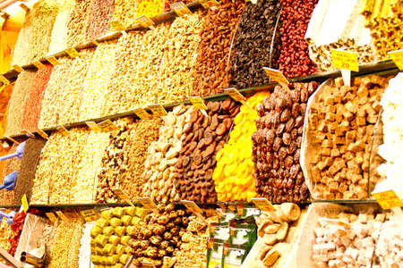 Bazar in Istanbul, Spices, Colorful, Orient photo