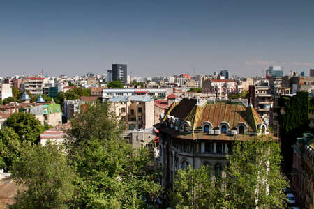 historical monuments and building in Bucharest