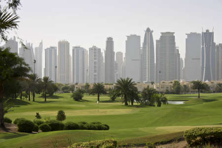 middle east: Golf in the middle east Dubai