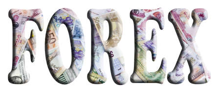 Words in 3D about finance on currencies Stock Photo - 16008321