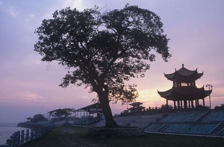 Haining,Zhejiang Province,China Stock Photo