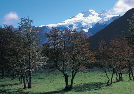 jokul: Beautiful scenic in Argentina Stock Photo