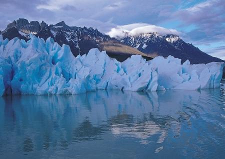 jokul: Beautiful scenic in Chile Stock Photo