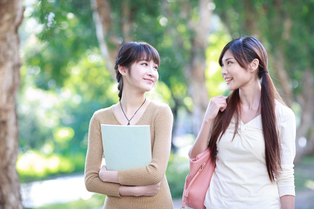 two young college students
