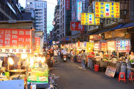 Taipei Wanhuawuzhou street night market