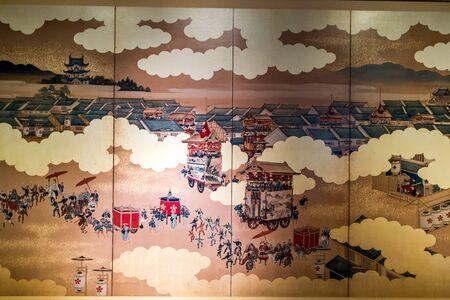 iga: Floats Clubhouse Iga Ueno Castle Japan