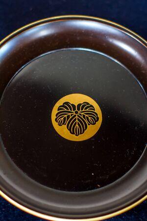 iga: plate at Iga Ueno Castle Japan