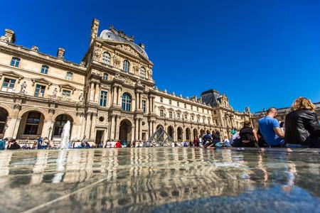 Louvre, Paris, France outdoor