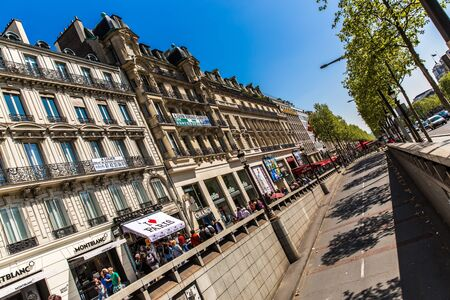 champs: Champs Elysees Ave, Paris, France Editorial