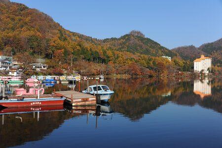 榛名湖日本