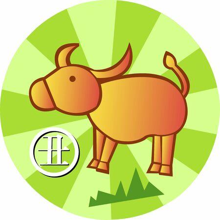 Kinesisk Zodiac Sign Stockfoto