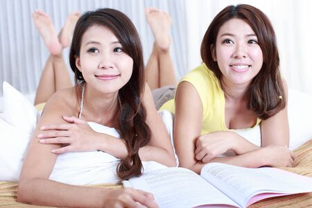 Portrait of Asian Young women