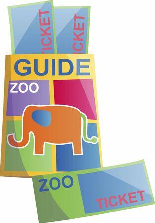 동물원 티켓 스톡 콘텐츠