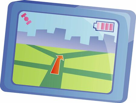 global positioning: Global Positioning System Stock Photo