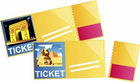 travel ticket 版權商用圖片