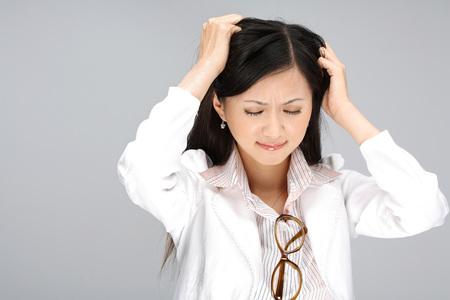 Portrait of young woman  免版税图像