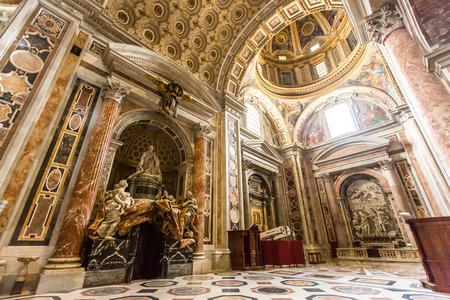 Basilica di San Pietro in Vaticano, Vatican indoor