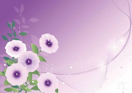 花のパターン 写真素材