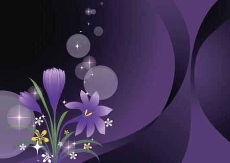 Flower pattern Zdjęcie Seryjne