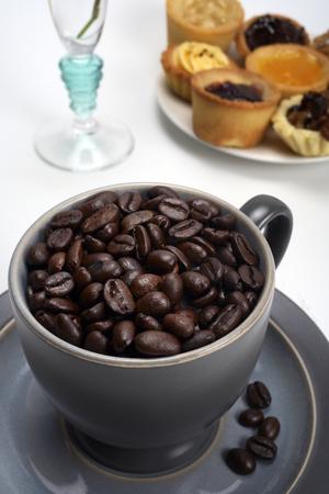 Grão de café Foto de archivo - 79979278