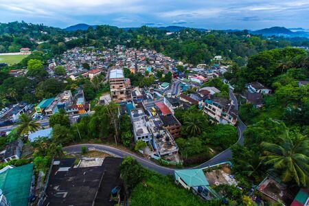 kandy: Kandy landscape, Sri Lanka Stock Photo