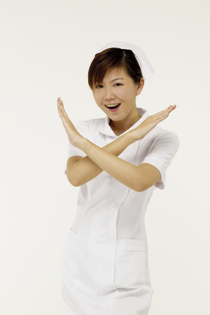 Portrait of young nurse