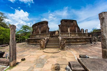 Dambulla, Sri Lanka antique cityscape
