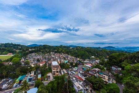 kandy: Kandy landscape, Sri Lanka Editorial
