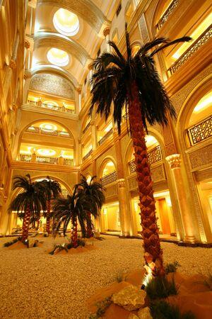 Emirates Palace Hotel; Abu Dhabi; Arabe Banque d'images - 81397763